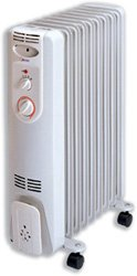 Heatrunner Heater for 20m.sq 230V/50Hz 3 Settings 800W 1200W 2000W W242xD447xH645mm Ref NYEB-9