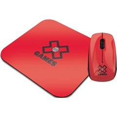 X-Games X GAMES OPTICAL CABLE MOUSE&PADRED (Computer / Keyboards & Mice)