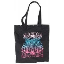 Animal Womens Peony Tote Bag Black