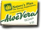 Natures Plus Ade Aloe Vera Soap 3 Oz