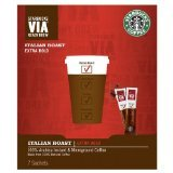 Starbucks VIA Italian Roast 7 sachets