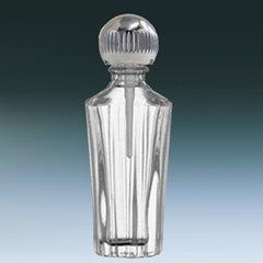 ヤマダアトマイザー パフュームボトル 小ビン 60632 ローマ クリア シルバー 約1.5ml