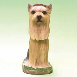 Mini Bobble Head Dog Yorkshire Terrier