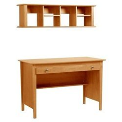Buy Low Price Comfortable Maple Contemporary Computer Desk with Hutch – Prepac MWD-4730-K (B005LWN1X0)