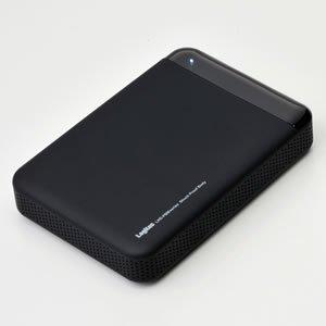 【壊れるかなという不安は一切いらない。】耐衝撃USB3.0対応のポータブルハードディスクユニット[2TB/ブラック]【LHD-PBM20U3BK】
