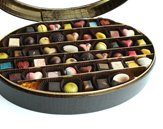 Anna Shea Chocolates 100 Piece Oval Box of Handcrafted Chocolates