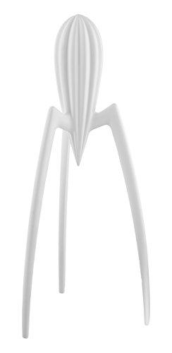 Alessi PSJS W Juicy Salif Zitronenpresse aus Aluminiumguß,weiß