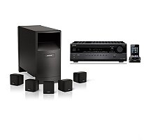 Bose Acoustimass 6 and Onkyo 5.1-Channel Home Theater Bundle by BOSE