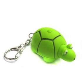 3x TURTLE LED Key Chain with Sound (Pack of 3pcs)