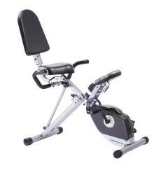 Exerpeutic 400XL Folding Semi Recumbent Exercise Bike,effective and comfortable workout (1110)
