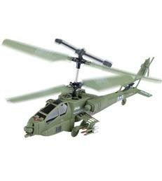 YIBOO UJ 415 United States Army Apache 64 Gyroscope 3.5 Channel Infrared RC Helicopter (Medium)