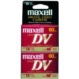 Lowest Prices! Maxell 298012 DVM60SE Mini Digital Video Cassette - 2 Pack