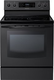 Electric Stove With Convection Oven back-22789