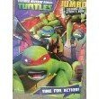 Teenage Mutant Ninja Turtles Jumbo Coloring & Activity Book ~ Time for Action