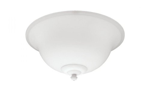 Monte Carlo MC213MOG Fluorescent Ceiling Fan Light Kit, Matte Opal Glass