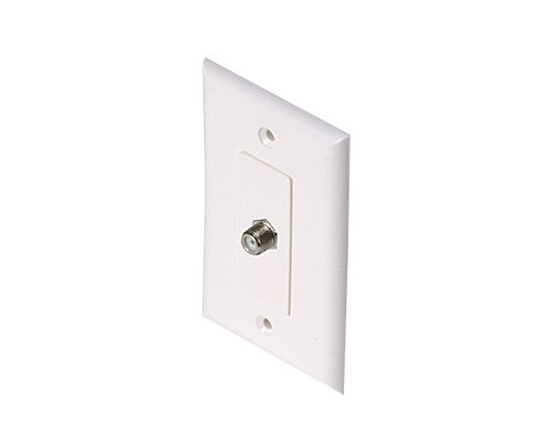 Steren 200-265Wh Wpw-81 Tv Wh F81 Wall Plate Decorator