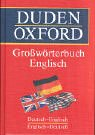 img - for Duden - Oxford Gro w rterbuch Englisch. Deutsch- Englisch / Englisch- Deutsch. book / textbook / text book