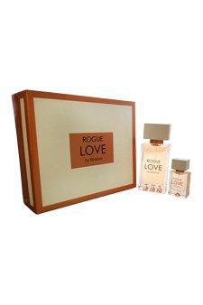Rihanna Rogue Love for Women 2 Piece Gift Set (4.2 Ounce Eau de Parfum Spray Plus 0.5 Ounce Eau de Parfum Spray)