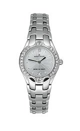 AK Anne Klein Women's Crystals watch #6927SVSV