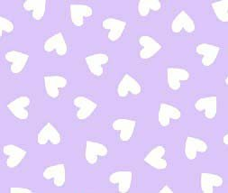 Sheetworld Fitted Sheet (Fits Babybjorn Travel Crib Light) - Hearts Pastel Lavender Woven - Made In Usa front-47968