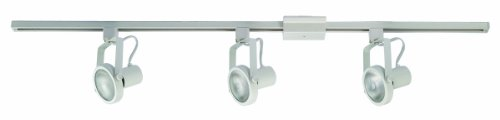 Design House 517045 Palma Collection 4-Foot Track-Light with 3 Heads, 8.25-Inch by 48-Inch, White