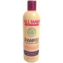 Allways Natural Shampoo Moisturizing Formula 12oz
