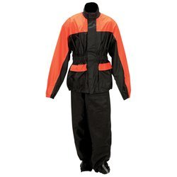 Diamond Plate Motorcycle Rain Suit 2X/3X image