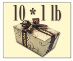 Leonidas Belgian Chocolates: 10 x 1lb Decorative Ballotins of Leonidas Belgian Chocolate