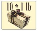 Leonidas Belgian Chocolates: 10 x 1lb Decorative Ballotins of Leonidas Belgian Chocolate