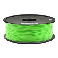 Inland 1.75mm Neon Green PLA 3D Printer Filament - 1kg Spool (2.2 lbs) from Inland