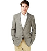 Collezione Pure Cashmere Notch Lapel 2 Button Jacket