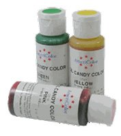 OIL CANDY COLOR - BLACK .65 Ounce Oil Candy Coloring