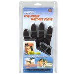 Fukuoku Five Finger Massage Glove, Right