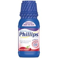 Phillips Milk Of Magnesia, Wild Cherry - 12 Fl Oz