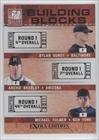 Michael Fulmer, Archie Bradley, Dylan Bundy New York Mets, Baltimore Orioles, Arizona Diamondbacks (Baseball Card) 2011 Donruss Elite Extra Edition Building Blocks Trios #2