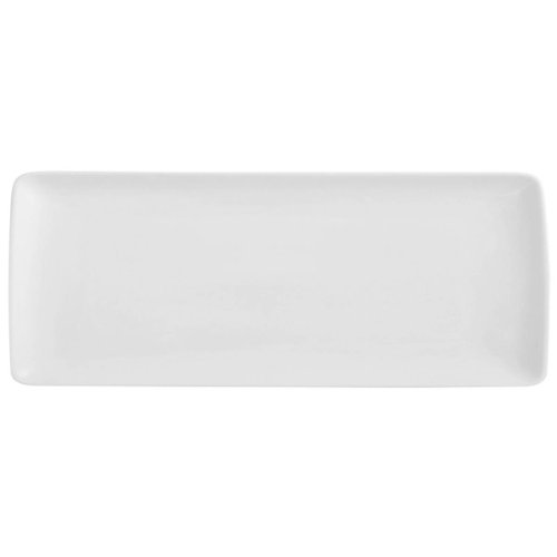 Guy Degrenne Modulo - Plato rectangular (porcelana, 40 x 16 cm), color blanco