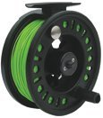 Large Arbour Fly Reel Loaded With Floating Fly Line by LUREFLASH