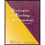 Strategies in Teaching Anthropology (0131116509) by Rice, Patricia C.