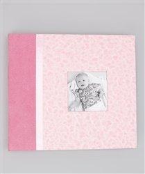 Aimeej MKA-LX-101 Luxe Mini Baby Memory Album, Pink