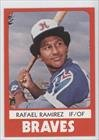 Rafael Ramirez (Baseball Card) 1980 Richmond Braves TCMA #2 by Richmond Braves TCMA