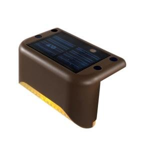 Solar powered step lights