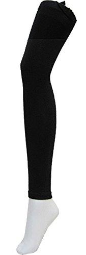 ローズマダム(Rosemadame) マタニティレギンス 80デニール 9分丈 漆黒ブラック M-L 111-1573-01