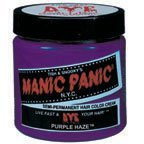 purple hair color, manic panic, Manic Panic Puple Haze Hair Dye