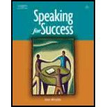 img - for Speaking for Success by Miculka,Jean. [2007,2nd Edition.] Paperback book / textbook / text book