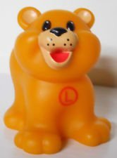 "Fisher Price Little People Replacement Animal Figure ""L"" Lion Cub - 1"