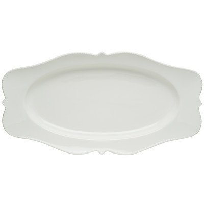 Red Vanilla Pinpoint 16.5 x 9 in. Oval Platter (Red Vanilla Dishes compare prices)