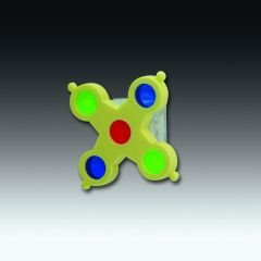 Image of JW Pet Company Insight Pin Wheel Small Bird Toy Assort Colors (B0002DJV0A)