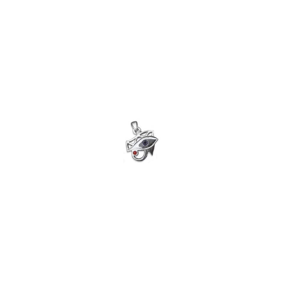 Horusauge Schmuckanhänger Udjat Auge 925Silber Schutzamulett von Peter Stone