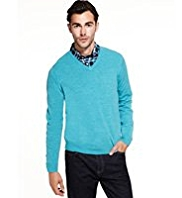 2in Longer Cashmilon™ V-Neck Jumper