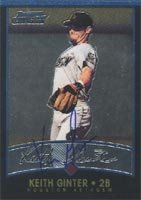 Keith Ginter Houston Astros 2001 Bowman Chrome Autographed Hand Signed Trading Card -... by Hall+of+Fame+Memorabilia